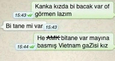 Komik WhatsApp Diyalogları - Yazışmaları - Konuşmaları