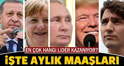 Dünya Liderleri Aylık Maaşları, Bakın En Yüksek ve En Düşük Maaşı Kim Alıyor!