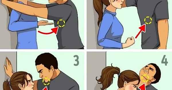 Bütün kadınların bilmesi gereken savunma teknikleri