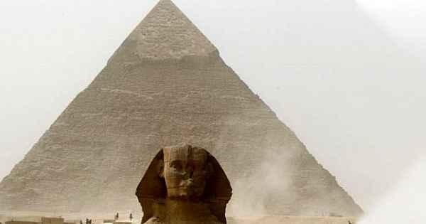 Giza Piramidi'nin inşaatında kaç kişi çalıştı... 4.600 yıllık gizem çözüldü