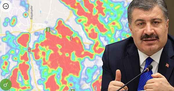 İşte büyükşehirlerdeki koronavirüs haritaları...
