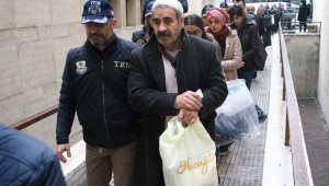 Bursa'da PKK propagandası yapan 14 kişi adliyeye sevk edildi