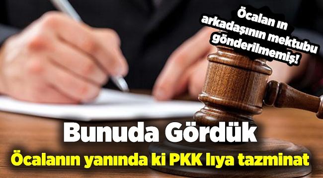 AYM, İmralı'dan Ankara'ya gönderilmeyen mektup için tazminat ödedi!
