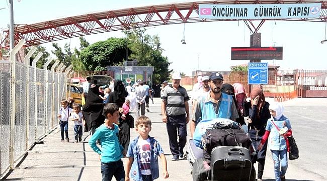Bayram İçin Ülkelerine Giden Suriyelilerden Binlercesi Ülkesinde Kaldı