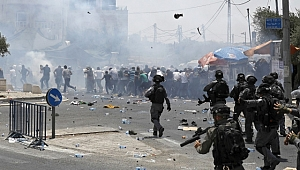 İsrail Filistin'de katliama başladı