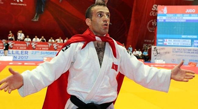Judoda altın madalya aldık