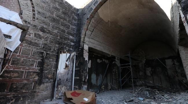 52 dükkanın küle döndüğü çarşı yeniden ayağa kaldırıldı | Bursa haberleri