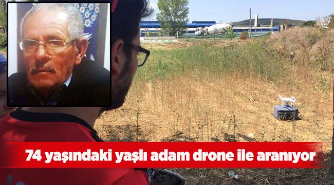 74 yaşındaki yaşlı adam drone ile aranıyor | Bursa haberleri