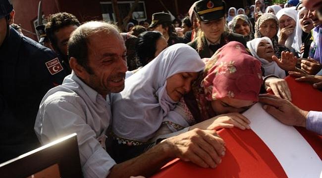 Bursa şehidini gözyaşları içinde uğurladı, böyle acıya yürek dayanmaz!