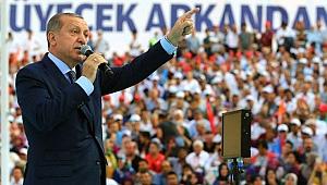 Cumhurbaşkanı Erdoğan: Türkiye yol ayrımında!