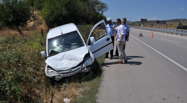Düğün yolunda feci kaza: 3 yaralı | Bursa haberleri
