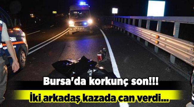 Bursa'da korkunç son!!!
