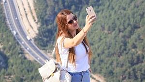 Mersin'de 650 mt yükseklikte selfie turizmi!