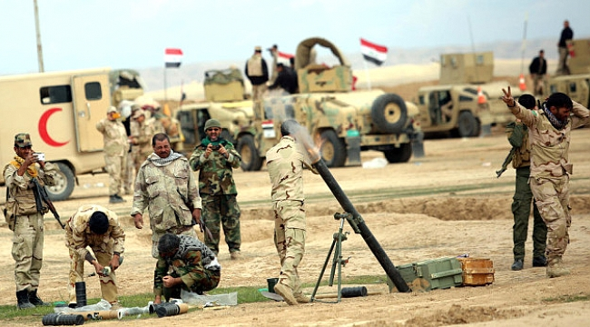 3 bin kişilik Irak ordusu Kerkük sınırına dayandı