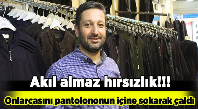 Bursa'da akıl almaz hırsızlık olayı