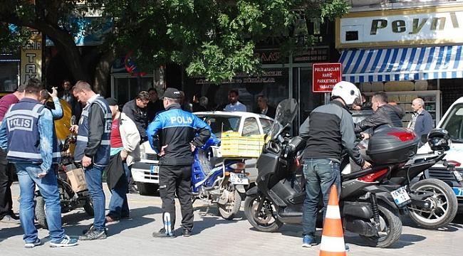 Bursa'da motosiklet sürücülerine 4 bin lira ceza