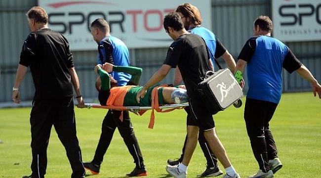 Bursaspor'da ikinci sakatlık şoku