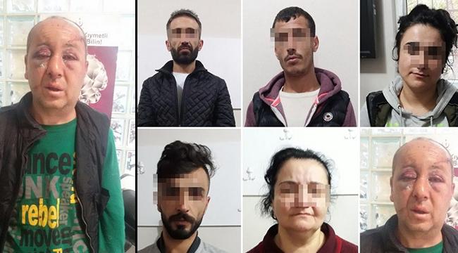 2'si kadın 5 kişi el ve ayaklarını bağlayıp dövdüler, gasp ettiler - Bursa Haberleri