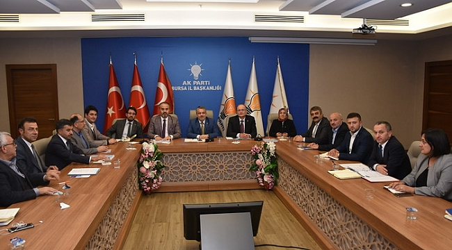 AK Parti il yönetimi toplandı - Bursa Haberleri