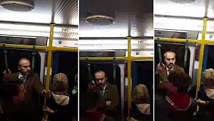 Başkan Aktaş iş çıkışı saatinde metroya binerek vatandaşları dinledi - Bursa Haberleri