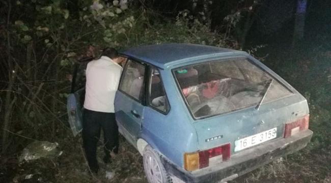 Bursa'da feci kazada 2 kişi yaralandı - Bursa Haberleri