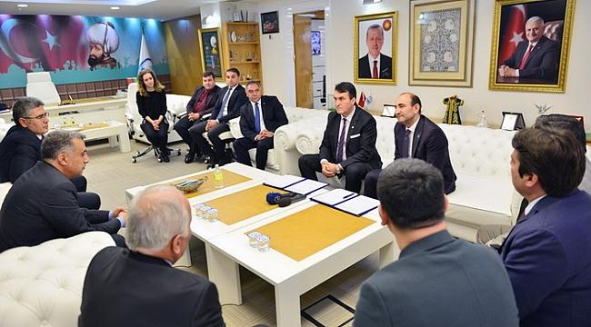 Bursa'nın iki belediyesi şehrin kalbinde yeni imar planı için anlaştı - Bursa Haberleri
