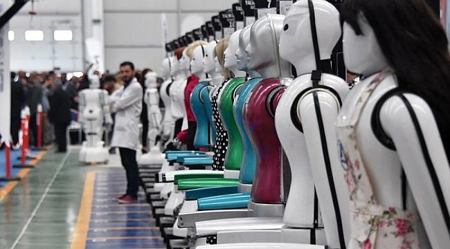 Türkiye'nin ilk insansı robot fabrikası açıldı ile ilgili görsel sonucu