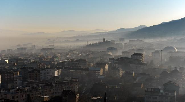 Bursa'nın havası normal değerlerin 10 kat üzerinde kirli çıktı - Bursa Haberleri