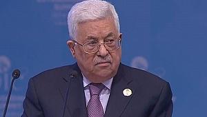 Mahmud Abbas, İstanbul'dan İsrail'e meydan okudu