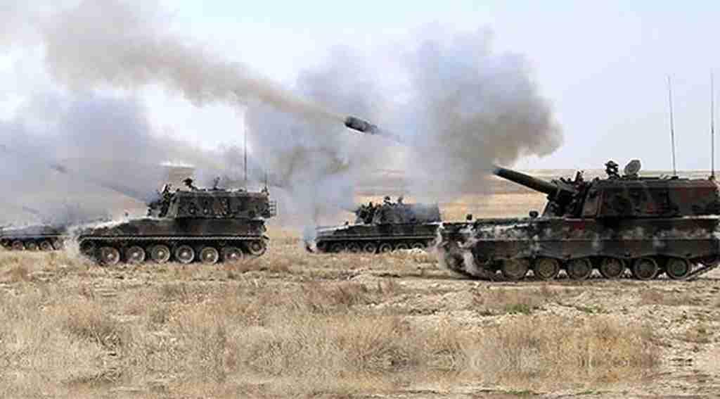 Afrin'e yapılan ilk saldırı! 30 PYD-YPG'li öldürüldü