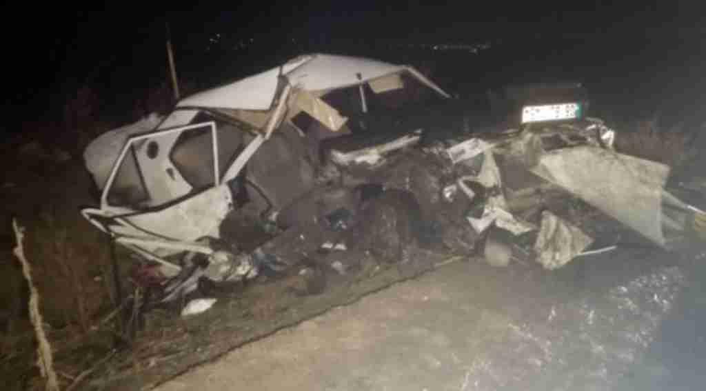 Ankara'da feci kaza 2 ölü 4 yaralı