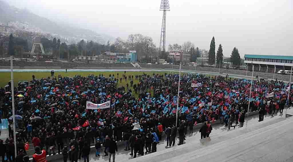 Bursa'da 5 bin işçi meydanlara indi - Bursa Haberleri