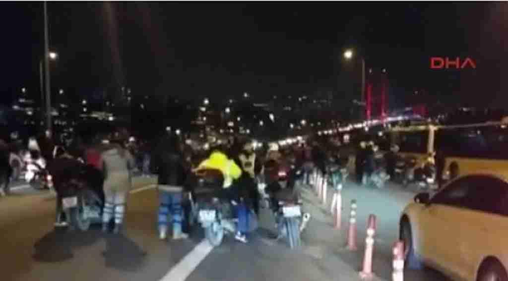 15 Temmuz Şehitler Köprüsü'nde silah sesleri duyuldu