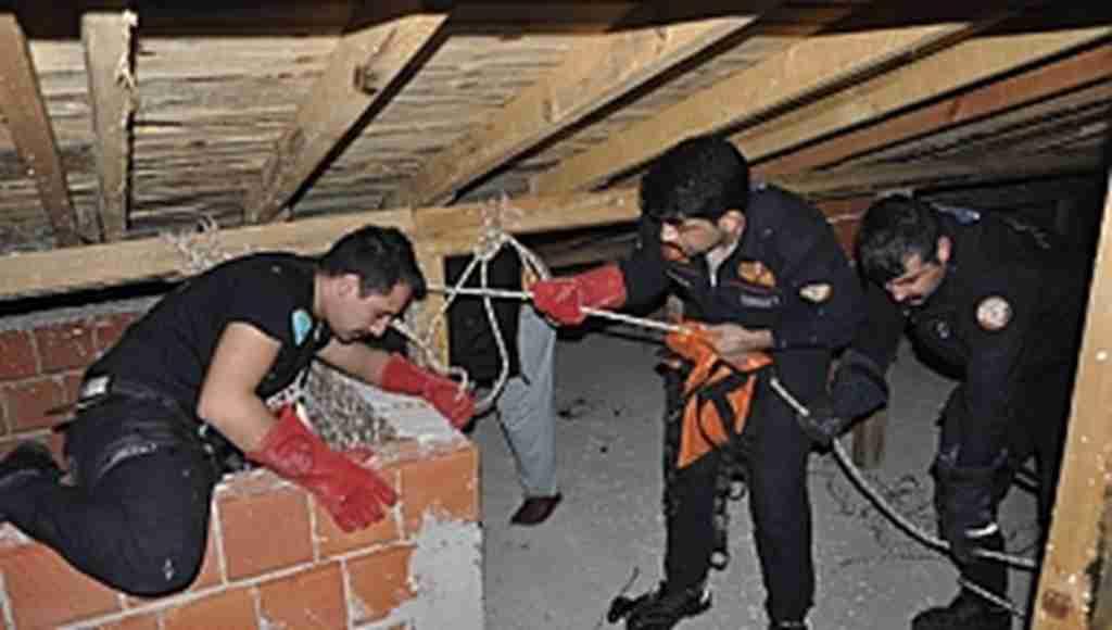 Bursa'da nefes kesen kurtarma operasyonu- Bursa Haberleri