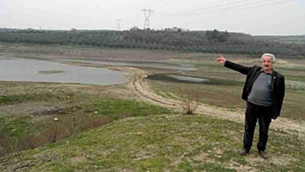 Ülkü göleti kuruyor - Bursa Haberleri