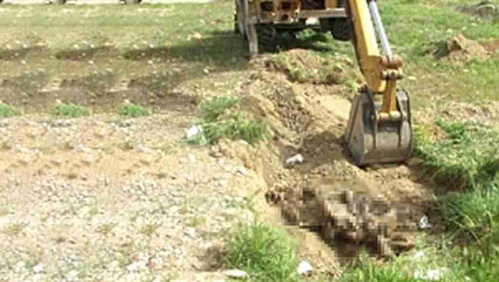 Afrin'de 110 cesedin olduğu toplu mezar bulundu