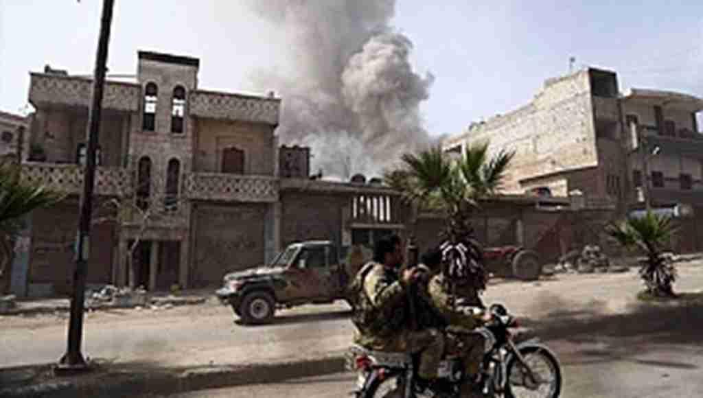 Afrin'de bomba tuzaklanan binada patlama, 11 ölü