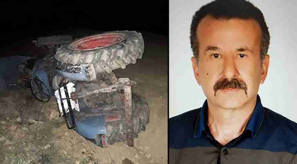 Alkollü sürücü devrilen traktörün altında kaldı - Bursa Haberleri