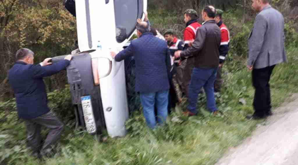 Bursa'da ölüm yolunda yine kaza: 1 yaralı - Bursa Haberleri