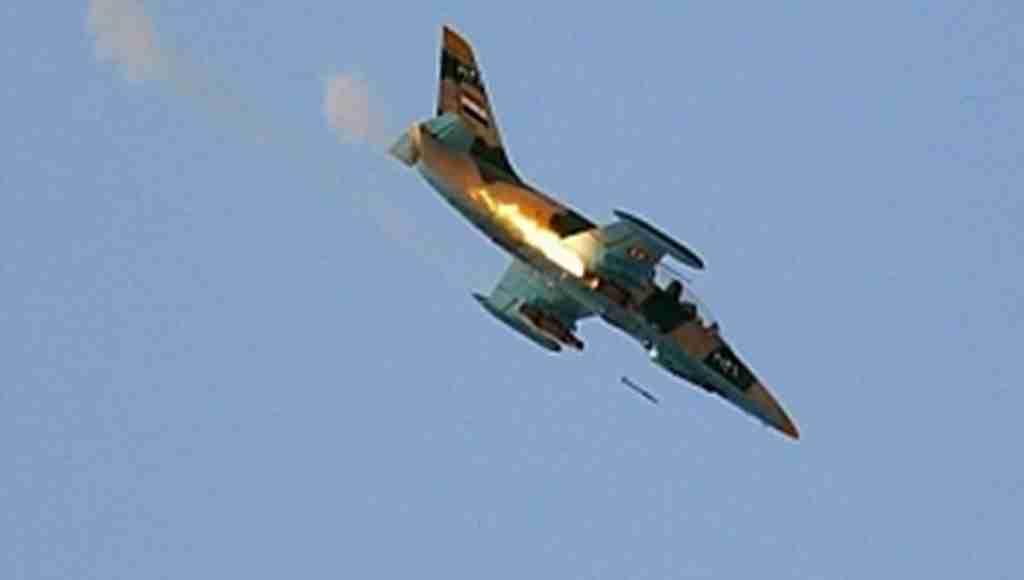 ÖSO, rejim uçağını düşürdü