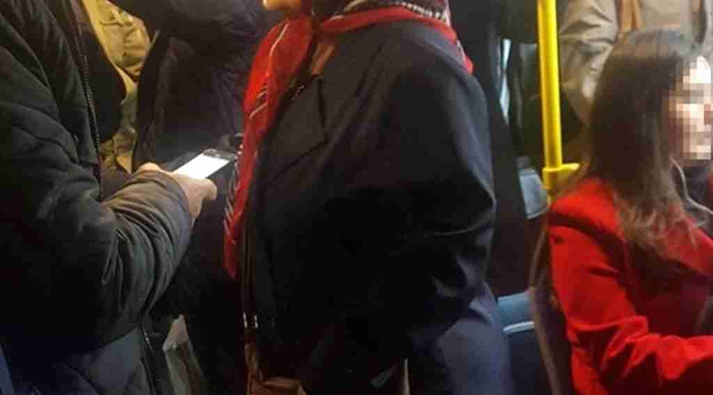 Otobüs tacizcisinin yüzsüz savunması