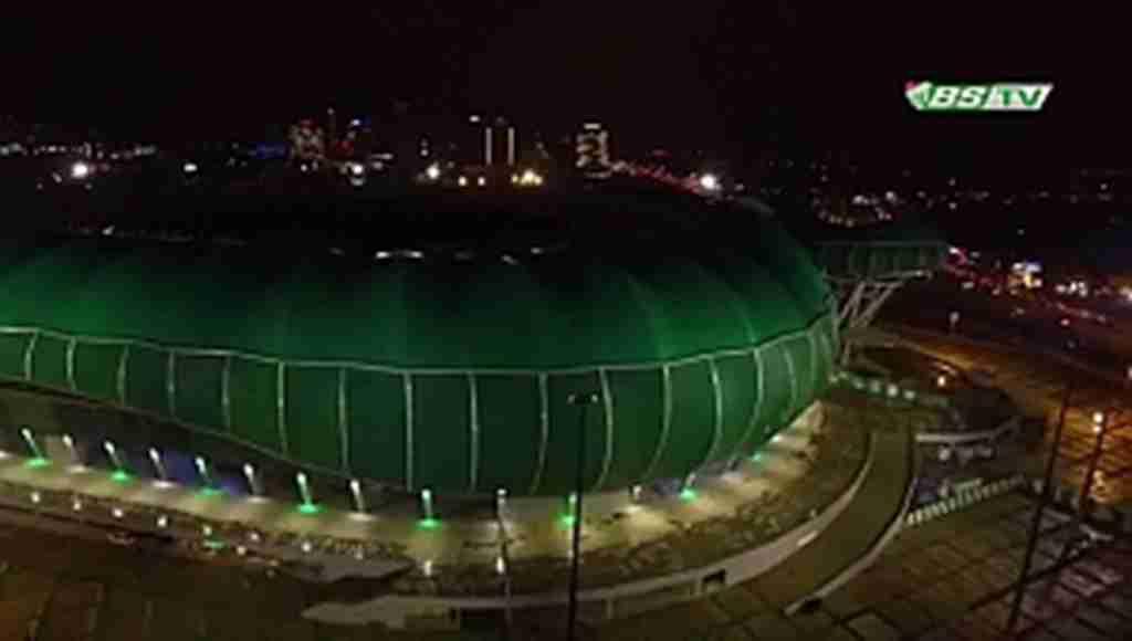Timsah Arena'da ışıklar söndü - Bursa Haberleri
