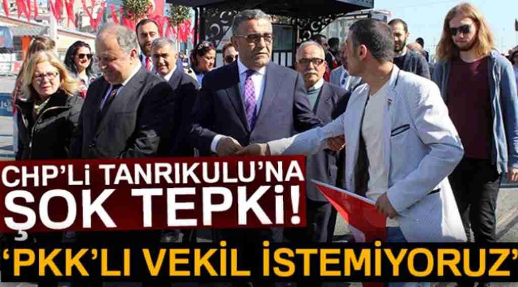 23 Nisan törenlerinde CHP'li Sezgin Tanrıkulu'na şok tepki