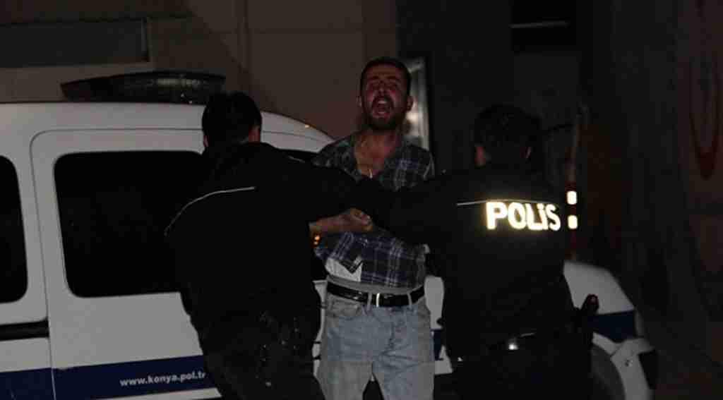 Alkollü sürücü, kurşun yağdırıp dehşet saçtı
