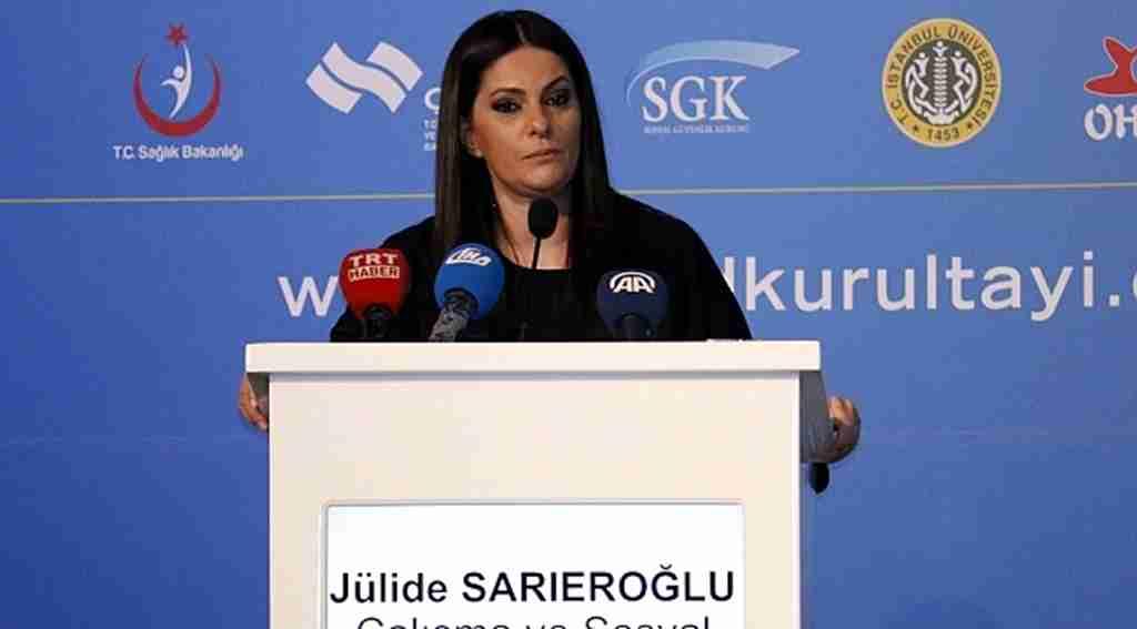 Çalışma ve Sosyal Güvenlik Bakanı Bakan Sarıeroğlu: 7,5 milyon vatandaşımızın GSS primini devlet olarak biz karşılıyoruz