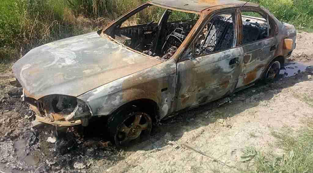 Çaldıkları aracı ateşe verdiler - Bursa Haberleri