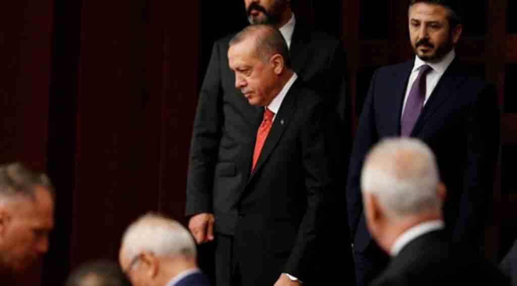 Cumhurbaşkanı Erdoğan, Meclis'te Yaşanan Gerilime