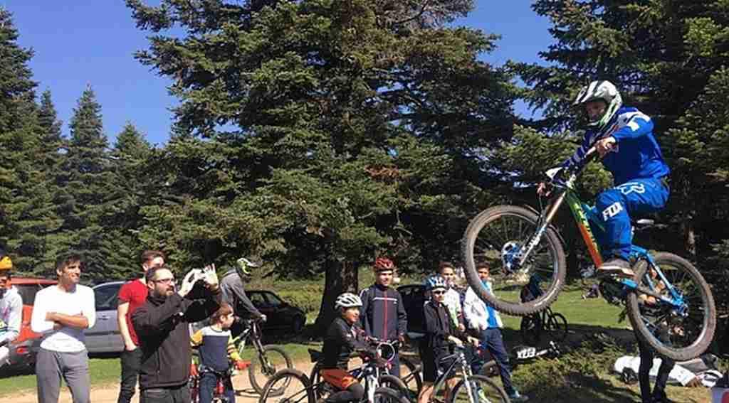 Downhill bisikletçileri Uludağ'da buluştu - Bursa Haberleri