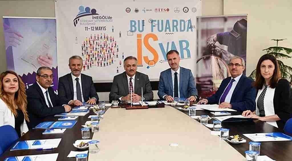İstihdam Fuarı'nın imzaları atıldı - Bursa Haberleri