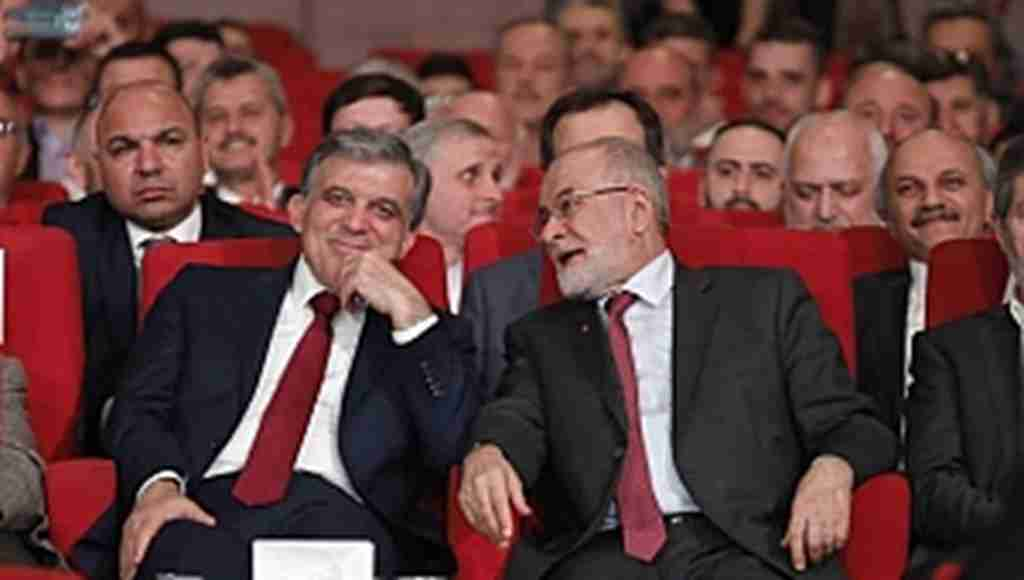 Karamollaoğlu-Abdullah Gül görüşmesi başladı